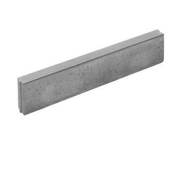 Opsluitband grijs 6x20x100cm