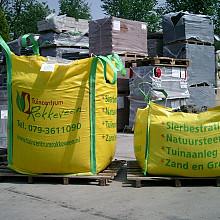 Puin big bag/pallet 1/2 m3 afvoer