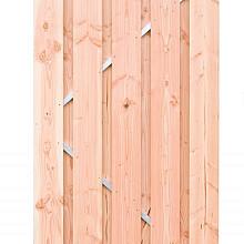 Bergen-deur op stalen frame 190x100cm Blank