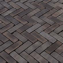 Ancona antica zwart-blauw-bruin dikformaat 65