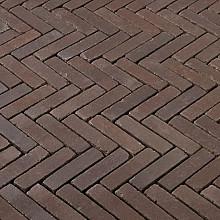 Bergamo antica bruin genuanceerd waalformaat 65