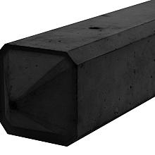 Betonnen 3-sponning punt  275x10x10cm Antraciet Gecoat