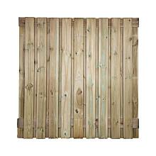 Bois 21 planks/15mm groen  180 x 180