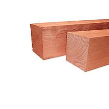 Fijnbezaagde paal douglas 15x15x500cm Blank