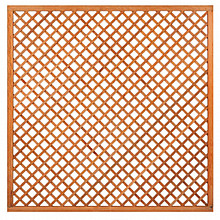Hardhouten trellis diagonaal 180x180cm