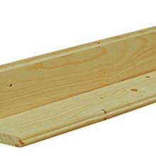 Dakbeschot planken vuren 1,7x9,5x300cm Geïmpregneerd