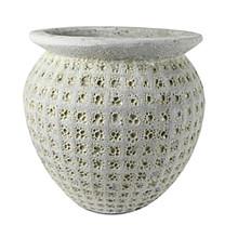 Globe pot bianco 55x53cm
