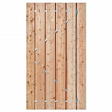 Alphen-deur op stalen frame (inclusief slot) 195x100cm Blank